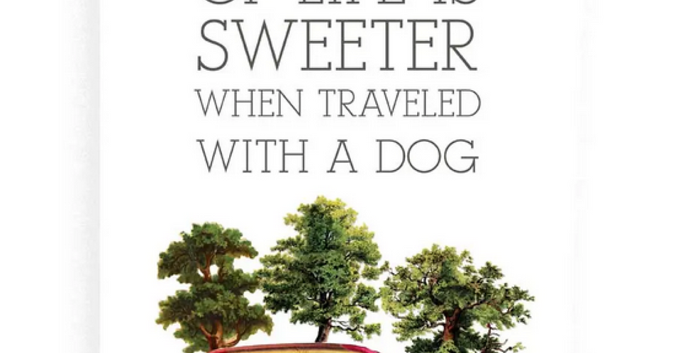 Sweeter with a Dog Kitchen Towel