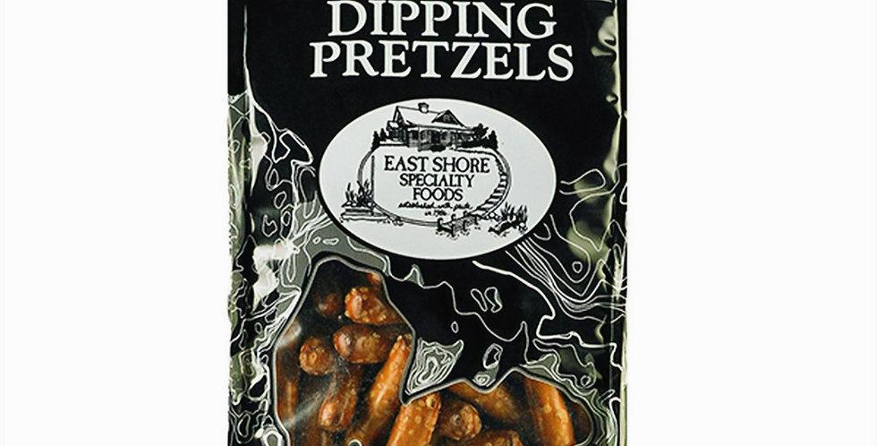 Dipping Pretzels