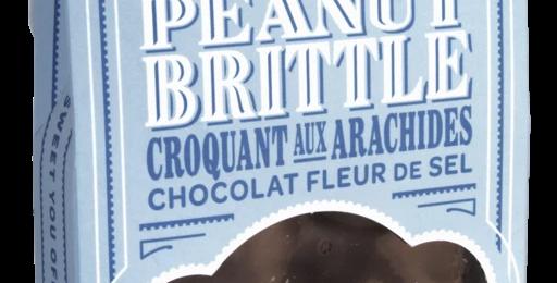 Sea Salt Chocolate Peanut Brittle