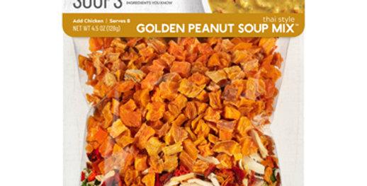 Thai Style Golden Peanut Soup