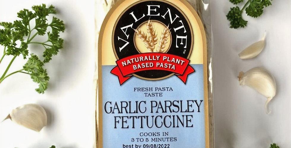 Garlic Parsley Fettuccine