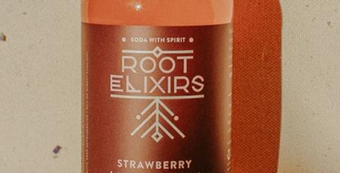Strawberry Lavender Cocktail Elixir
