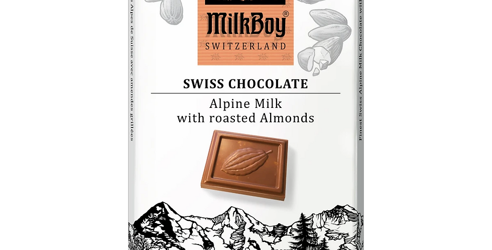Alpine Milk Chocolate with Roasted Almonds