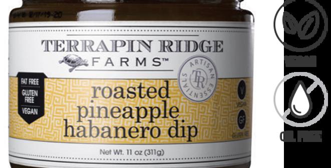 Roasted Pineapple Habanero Dip
