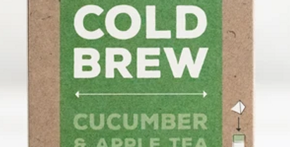 Cucumber & Apple Cold Brew Tea
