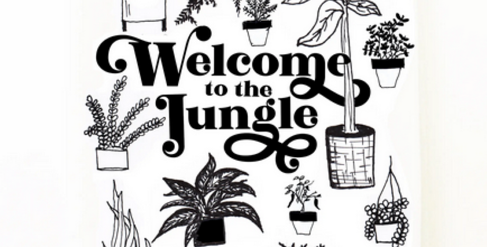 Welcome to the Jungle Kitchen Towel