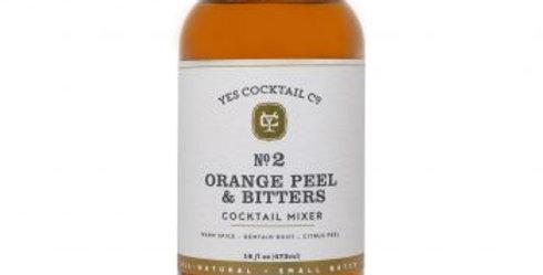 Orange Peel & Bitters Cocktail Mixer