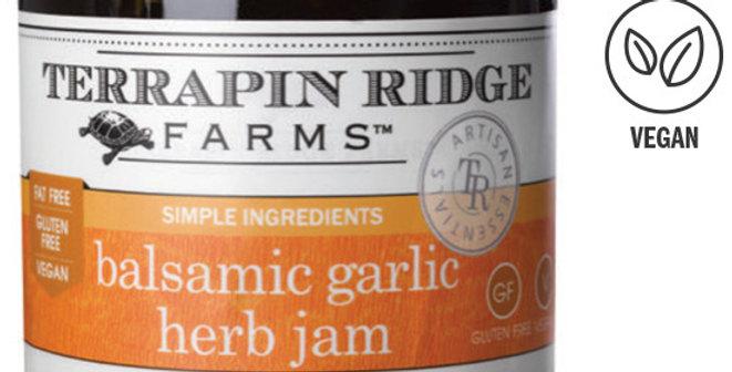 Garlic, Balsamic & Herb Jam