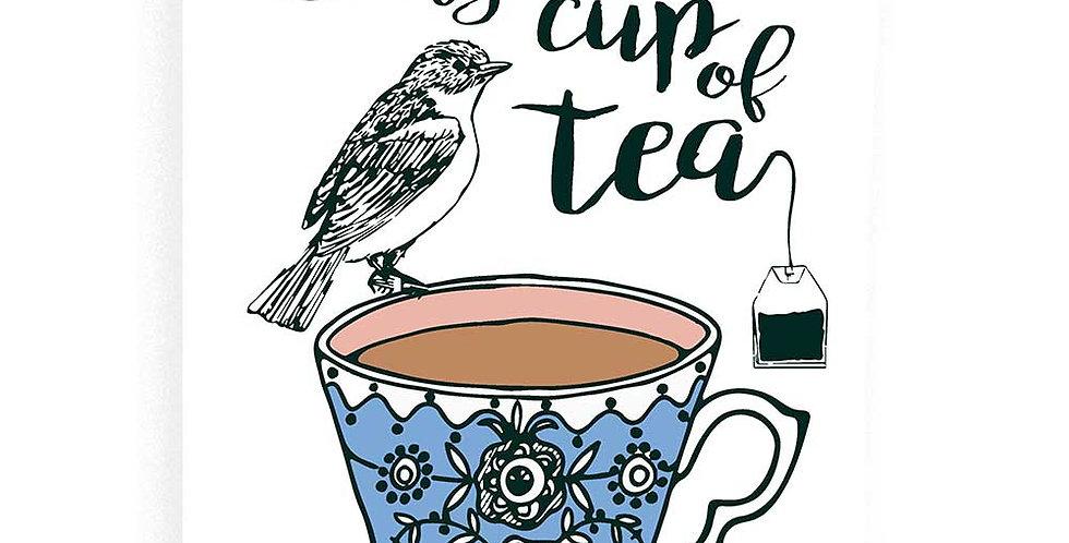 You're My Cup of Tea Flour Sack Towel