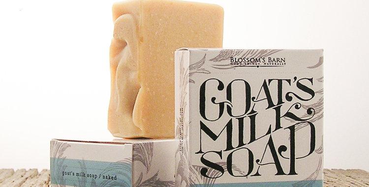Naked Goat's Milk Soap