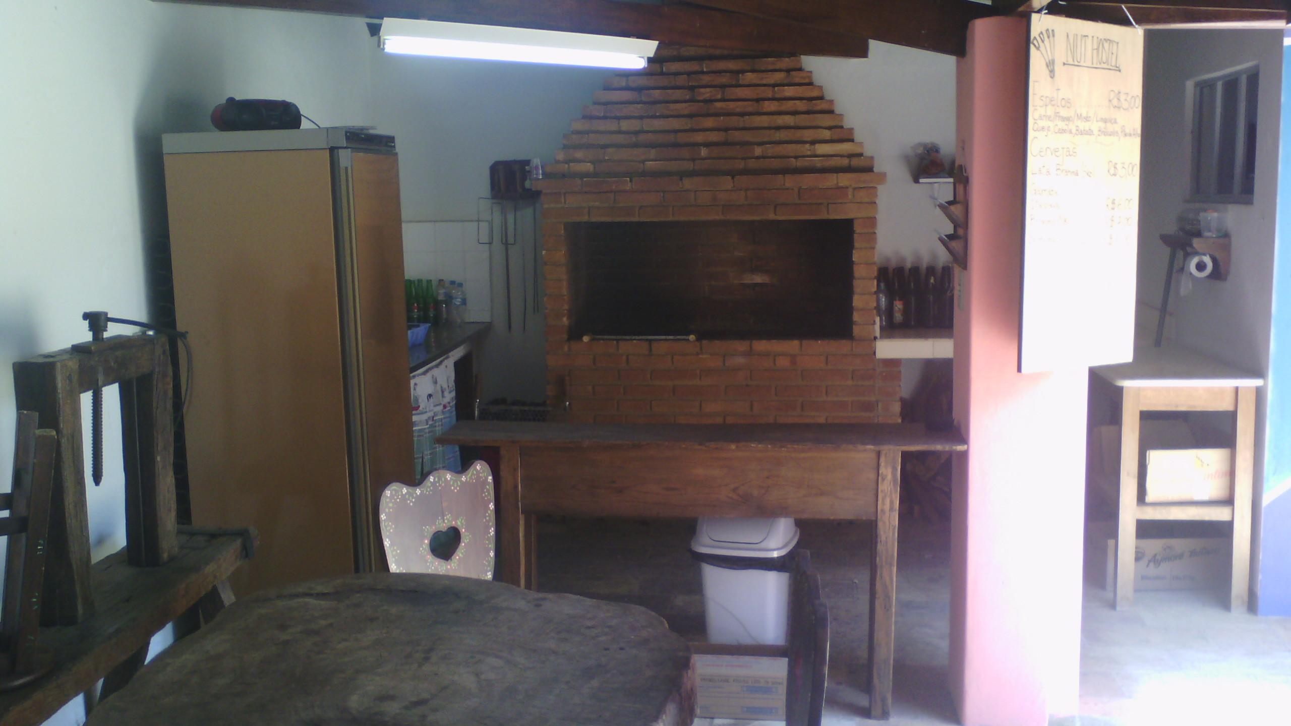 Área de churrasqueira