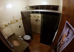 Banheiro, Luna hostel