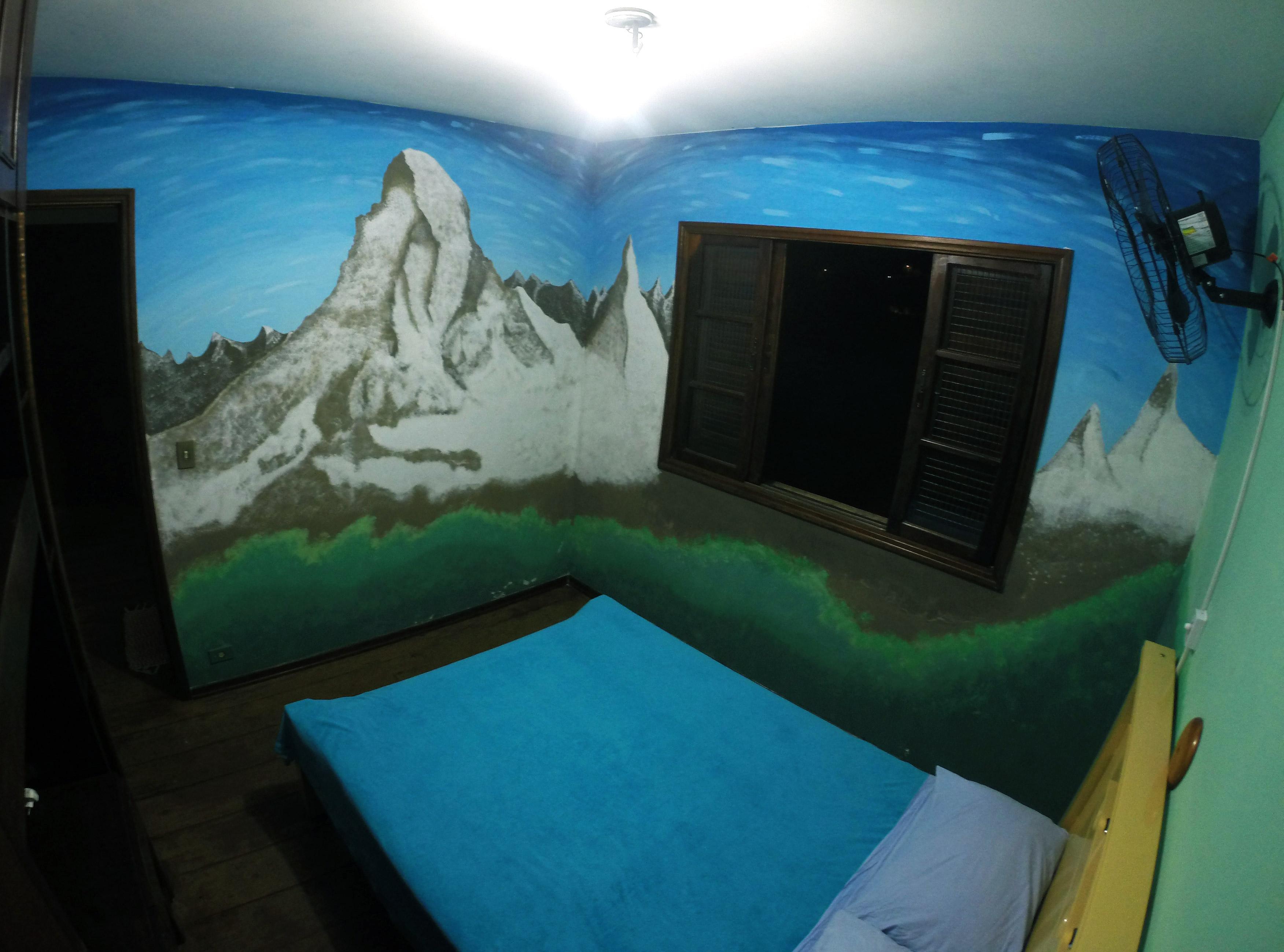 Quarto de casal, Luna hostel