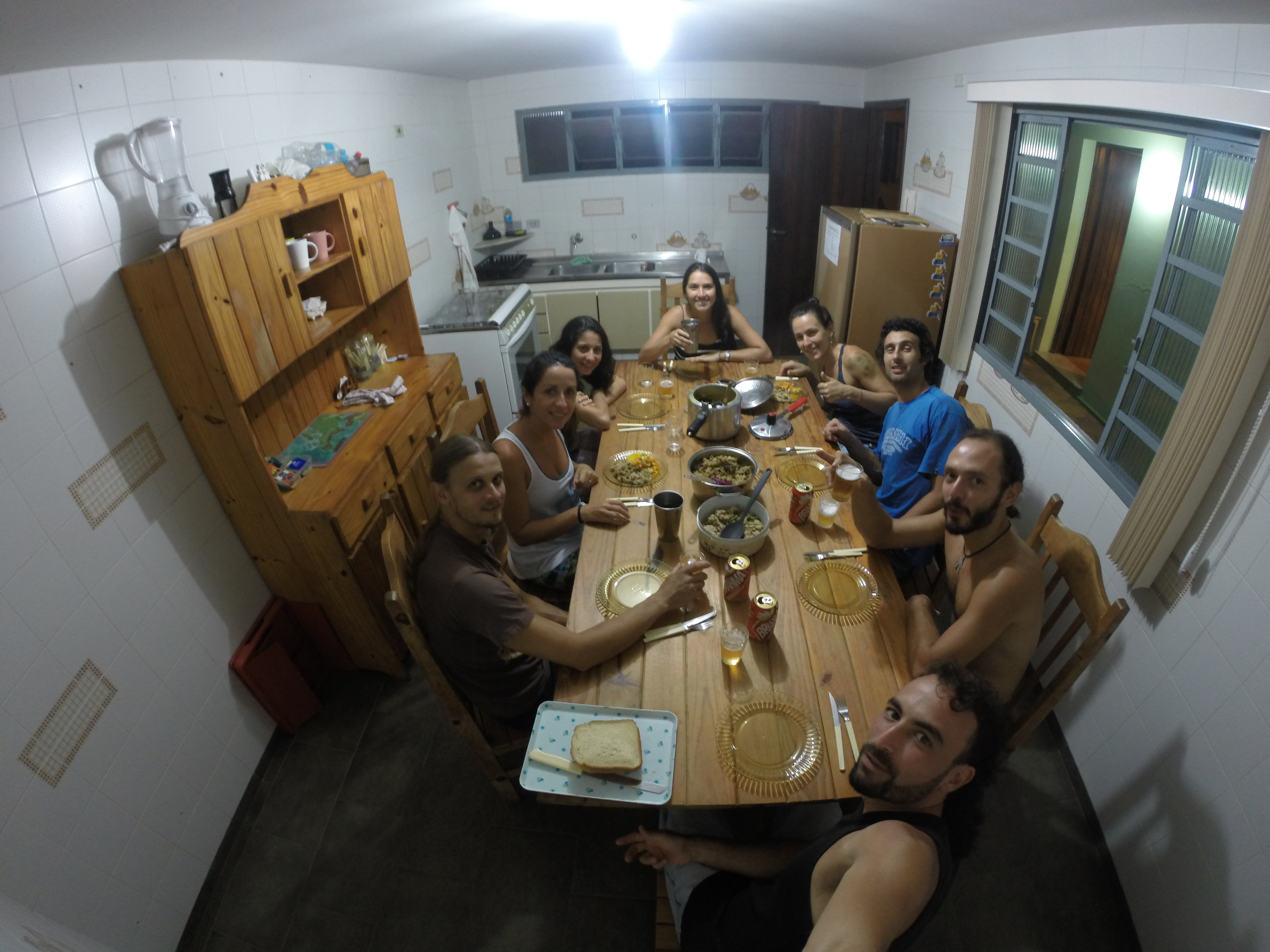 Luna Hostel - Janta coletiva