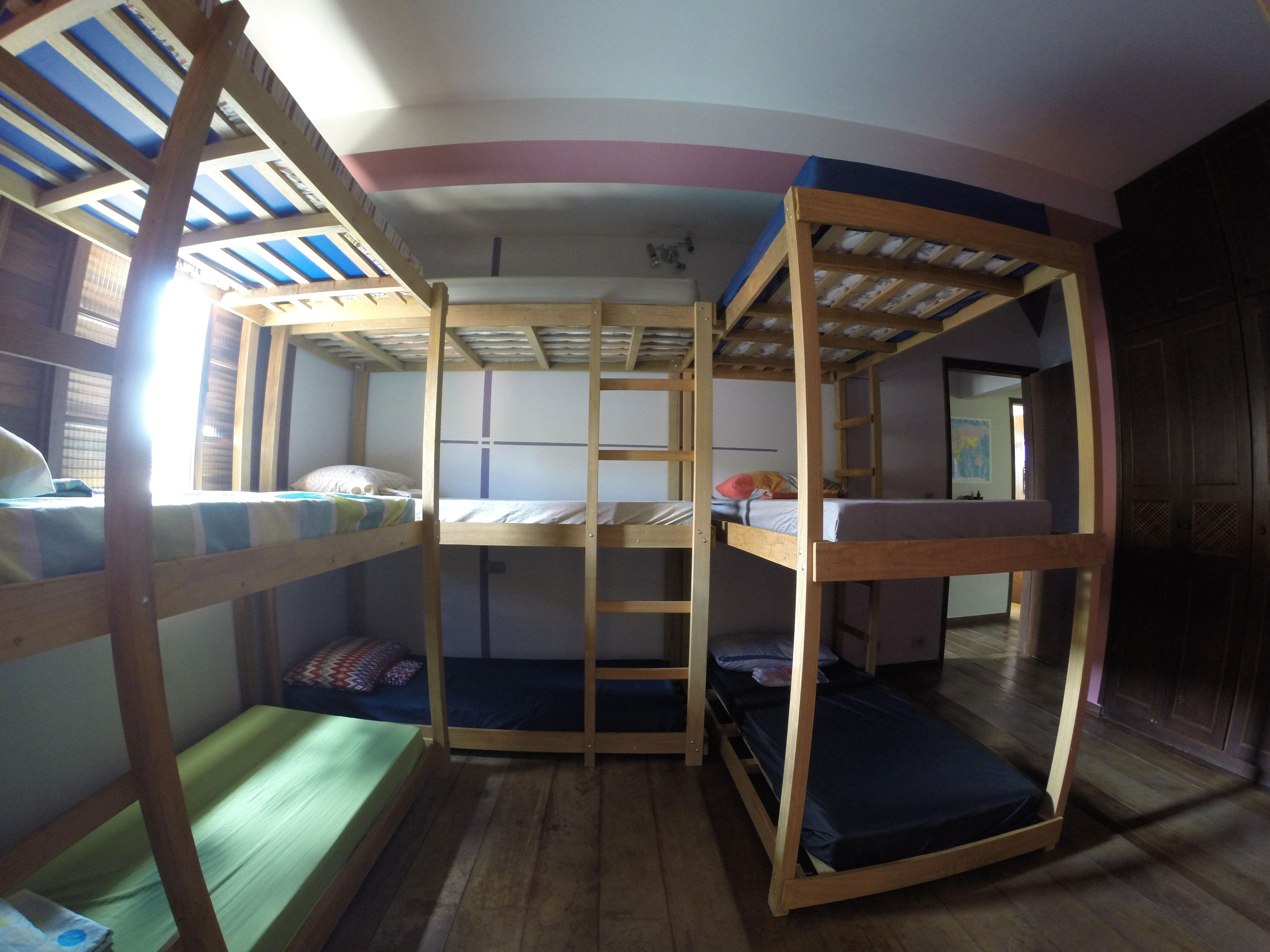 Quarto coletivo, Luna hostel