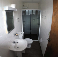 Banheiro quarto Suite - Luna Hostel