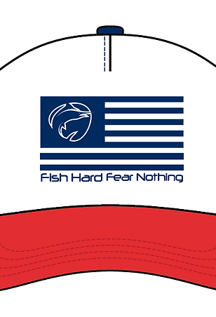 Fish Hard Flag Snapback