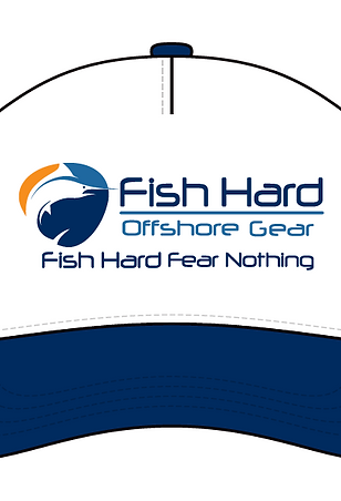 Fish Hard Original Logo Foam Snapback