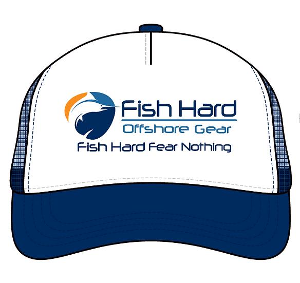 Fish Hard Original Logo Foam Snapback