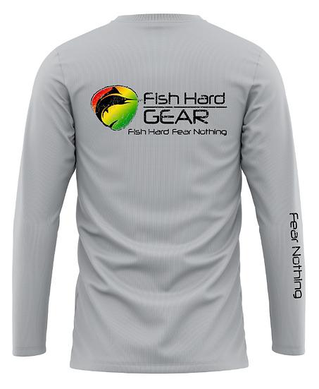 Fish Hard Quick Release Gear Rasta Logo
