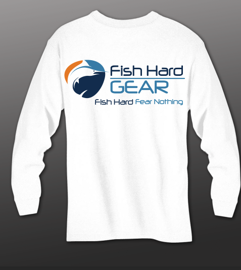 Fish Hard Original Logo  Quick Release Gear