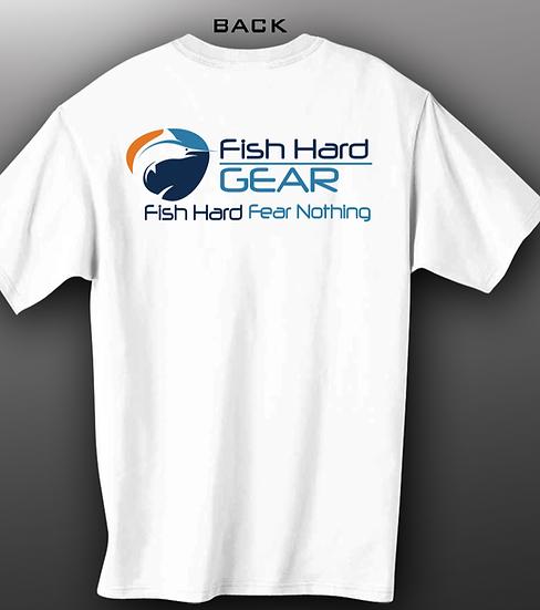 Fish Hard Original Logo Tee