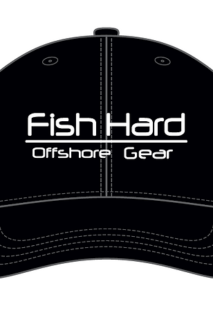 Fish Hard Offshore Gear Snapback