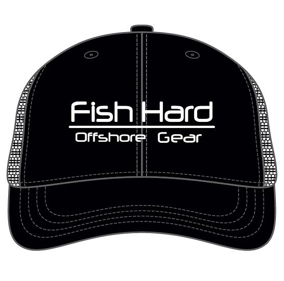 Fish Hard Offshore Gear Snapback