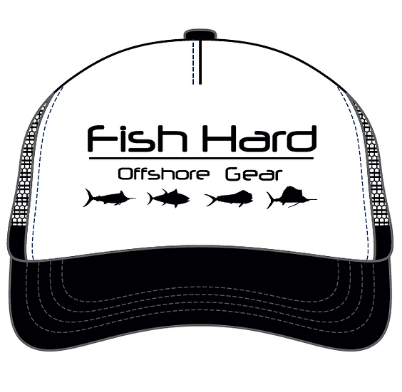 Fish Hard Offshore Logo Foam Snapback