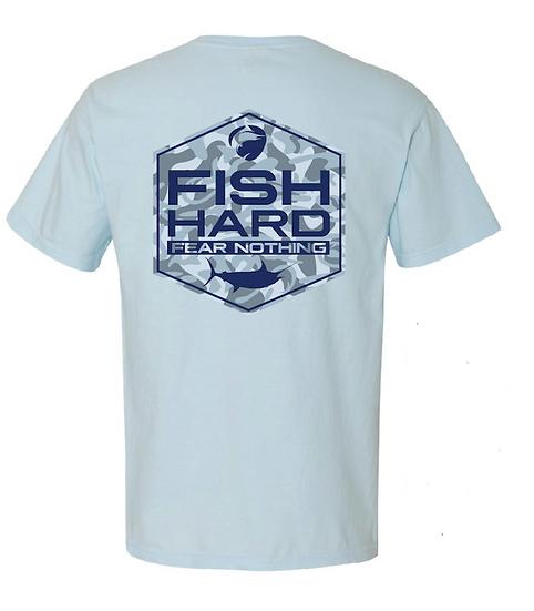 Fish Hard Gear Camo Logo Tee