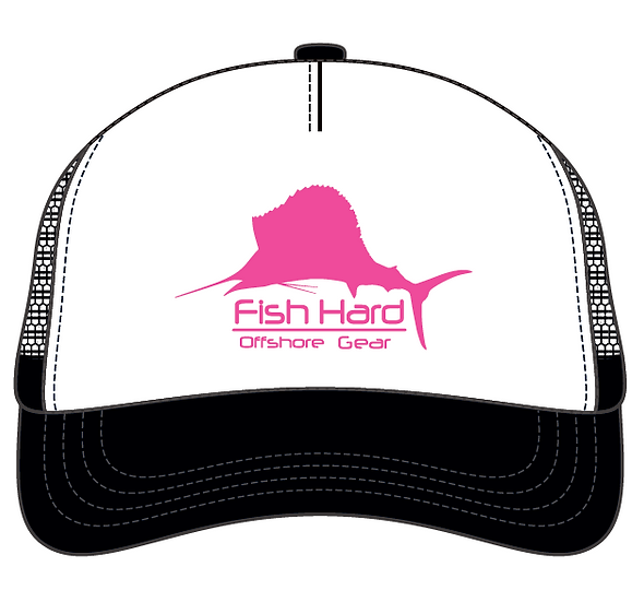 Fish Hard Ladies Sailfish Snapback