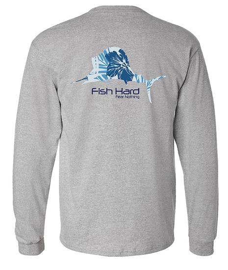 Fish Hard Gear LS Island Sailfish Tee