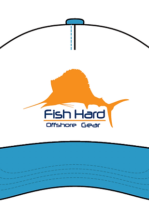 Fish Hard Offshore Sailfish Snapback