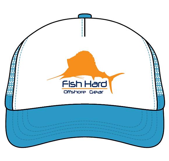 Fish Hard Offshore Sailfish Snapback