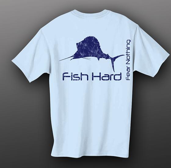 Fish Hard Offshore Gear Sailfish Tee