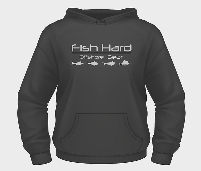 Fish Hard Offshore Tech Hoodie