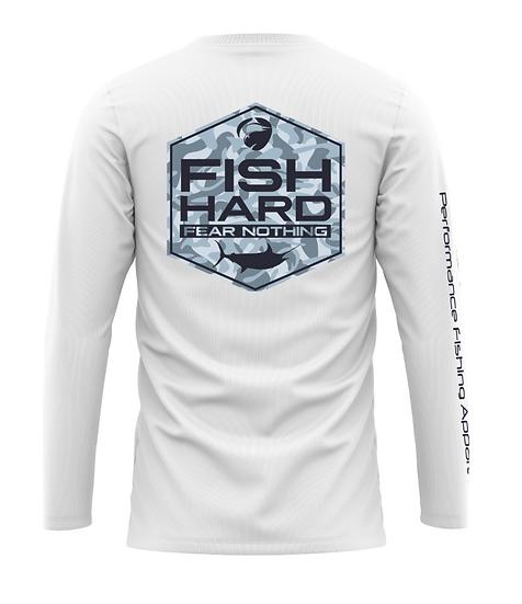 Fish Hard Gear Quick Release Camo Logo