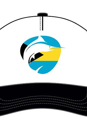 Fish Hard Logo Bahama Flag Snapback