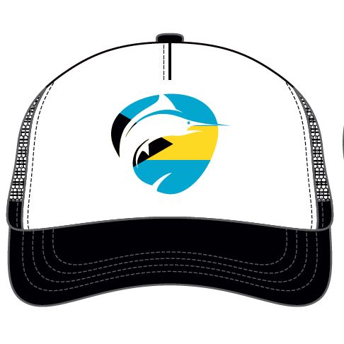 Fish Hard Logo Bahama Flag Snapback