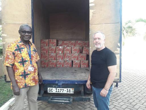 Aqua Africa donate to Ghana's COVID-19 Emergency Response