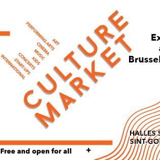 Eerste Culture Market in Brussel!