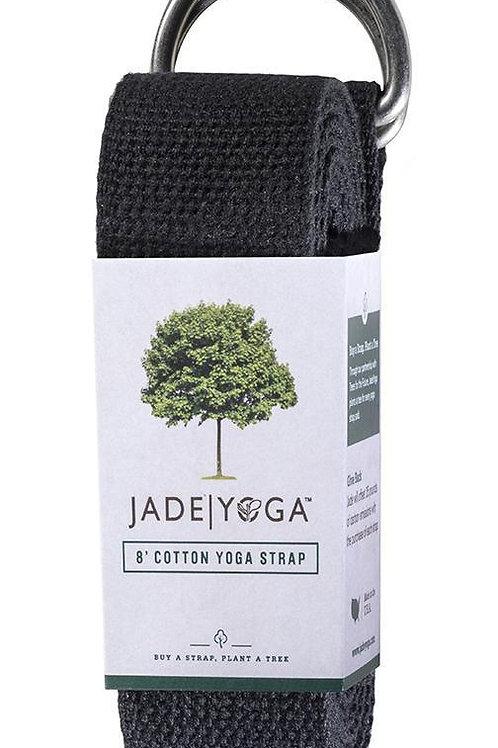 Correa Negra de Jade Yoga (2.4 m)