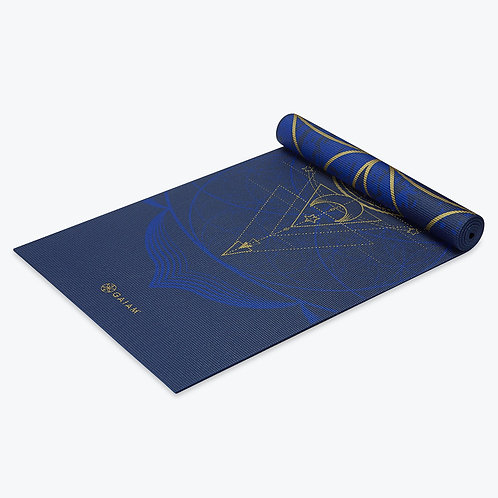 Reversible Metallic Sun & Moon Yoga Mat (6mm)