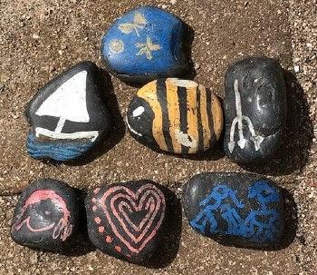malede sten