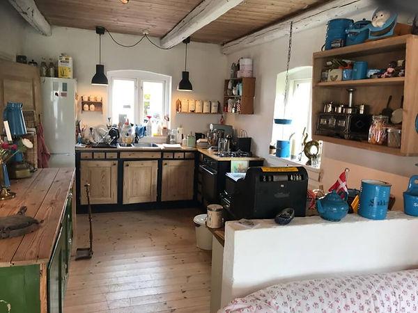 Teatergården i Holbæk har det fineste lille køkken