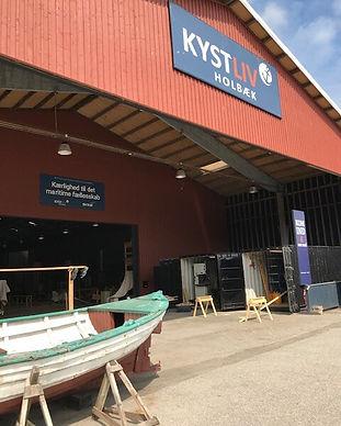 Kystlivscentret ved Holbæk havn