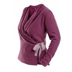 Slå om fleece trøje