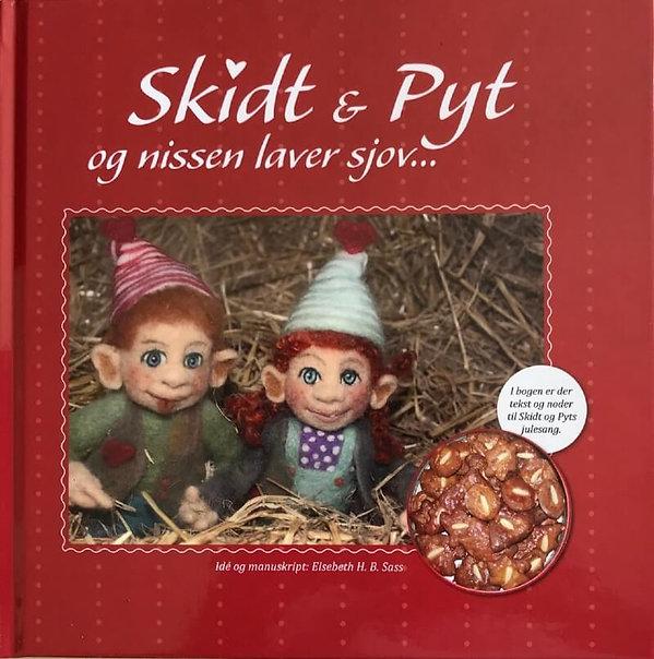 Cover af julebogen Skidt og Pytpg
