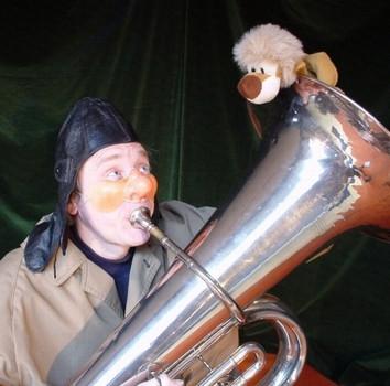 Et billede fra forestillingen om Boris og den glade løve