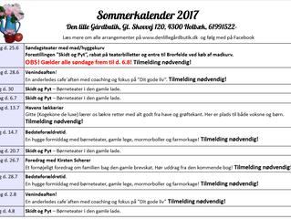 Sommerens program